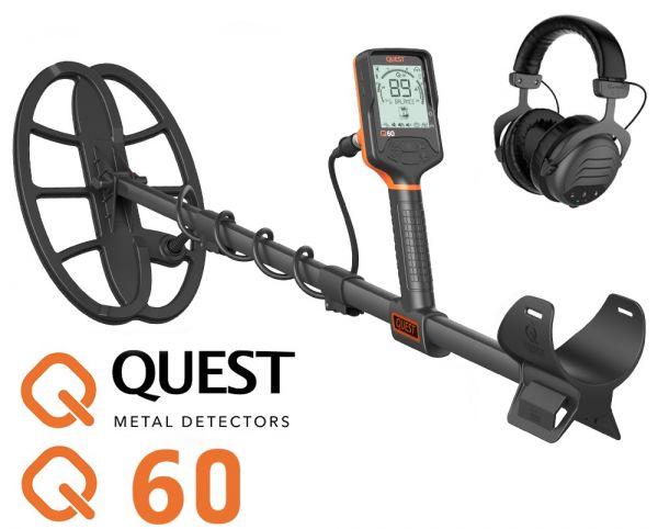 Quest Q60 Metalldetektor wasserdicht