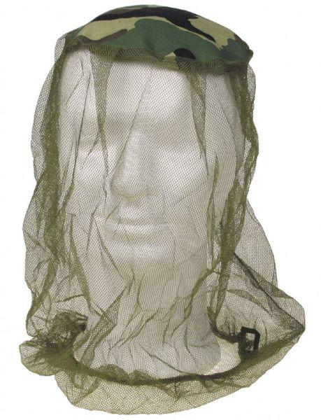 Moskito Kopfnetz, Stoffeinsatz, oliv-woodland