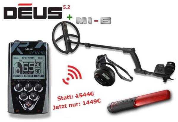 XP Deus + MI-6 Sommer Angebot bei Detektormarkt