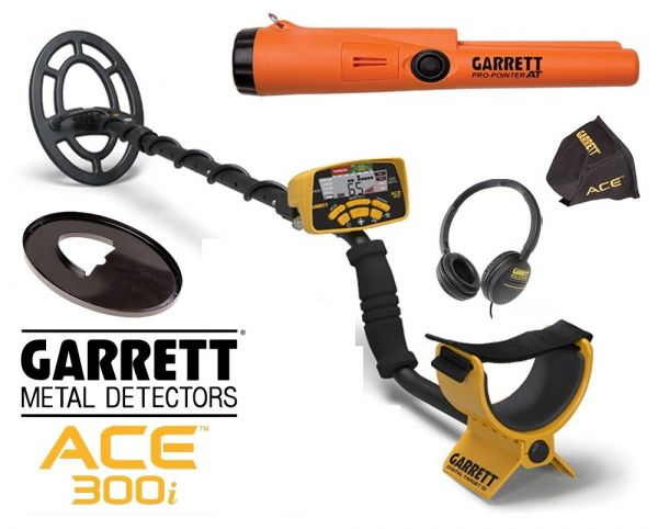 Garrett Ace 300i + Propointer AT
