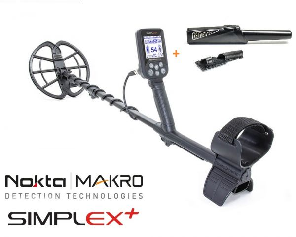Nokta/Makro Simplex+ Metaldetektor + RS Pinpointer
