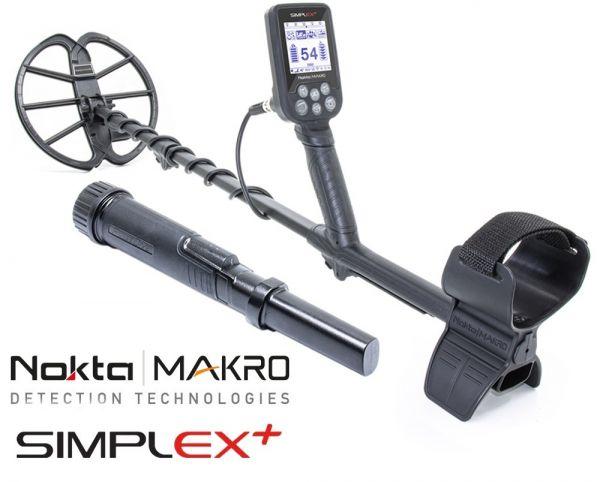 Nokta   Makro Simplex + Metalldetektor mit Pulsedive Pinpointer