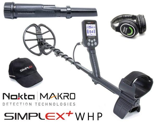 Nokta/Makro Simplex + WHP Metalldetektor mit PulseDive Pinpointer