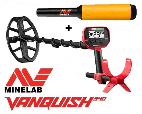 Angebot Vanquish 340 + Pro-find 15 bei Detektormarkt