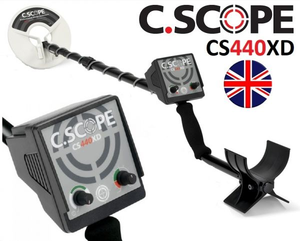 C.Scope CS440XD Metalldetektor SET