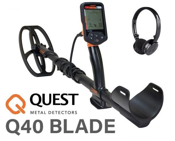 Quest Q40 Blade Metalldetektor bei Detektormarkt