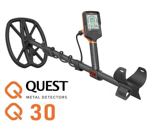 Quest Q30 Metalldetektor