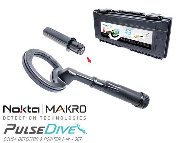 Nokta/Makro Pulse Dive schwarz bei Detektormarkt