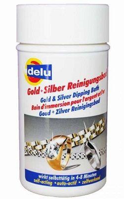 Delu Gold und Silber Reinigungs-Bad
