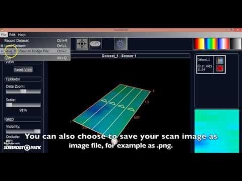 Tero Vido 3D System Basic Vertikal Bodenscanner