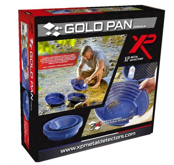 XP Premium Profi Goldwasch-set 10-tlg. bei Detektormarkt
