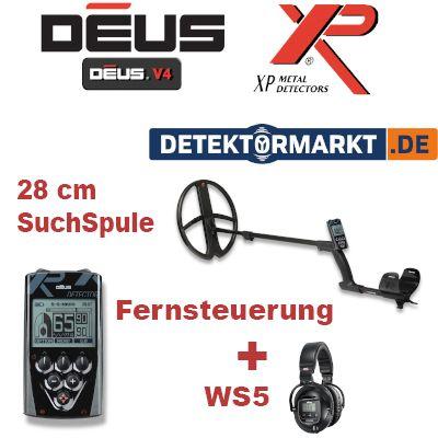 XP DEUS X35 28 RC WS5 Komplett-Set 5.2