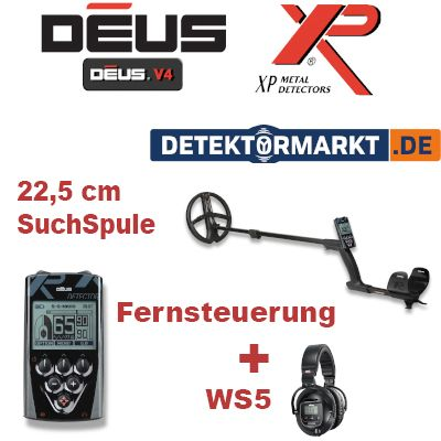 XP DEUS X35 22 RC WS5 Komplett-Set 5.2
