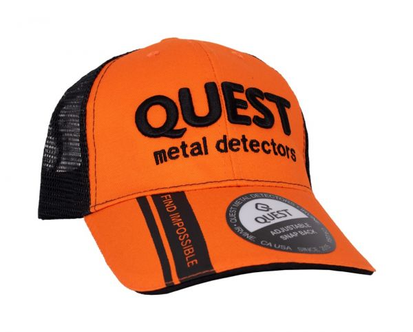 Quest Cap Black Orange