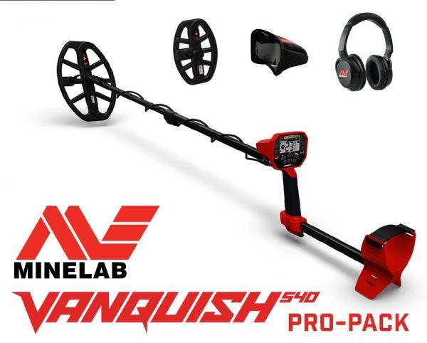 Minelab Vanquish Pro Pack bei Detektormarkt